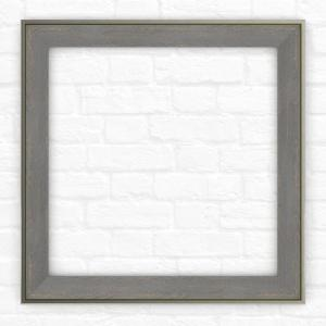 Delta 33 inch x 33 inch (L2) Square Mirror Frame in Weathered Wood by Delta