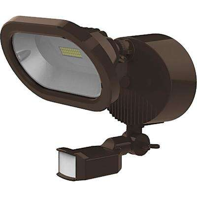 14-Watt Integrated LED Bronze Outdoor Area Light