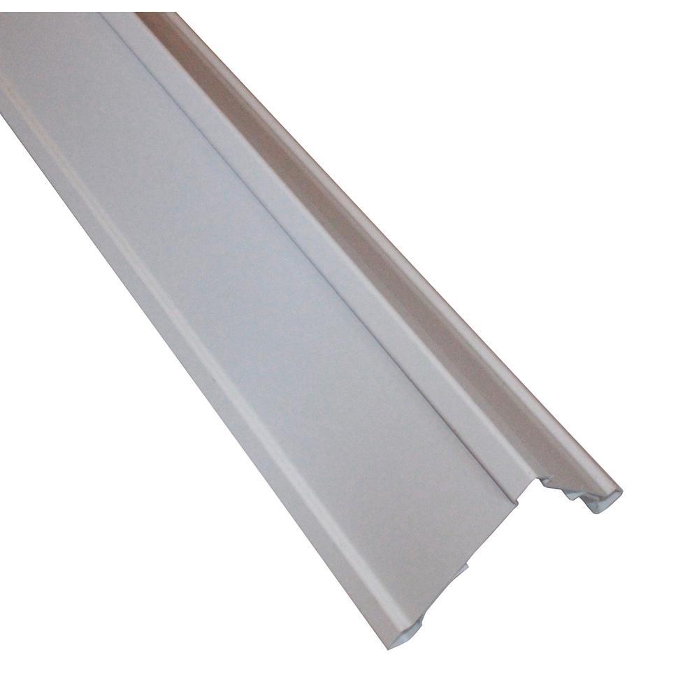 Corner Pro Clip on Vinyl Siding Corners 5.5 in. x 5.5 in. x 120 in. White Outside Corner Posts