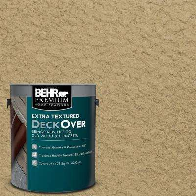 1 gal. #SC-145 Desert Sand Extra Textured Solid Color Exterior Wood and Concrete Coating