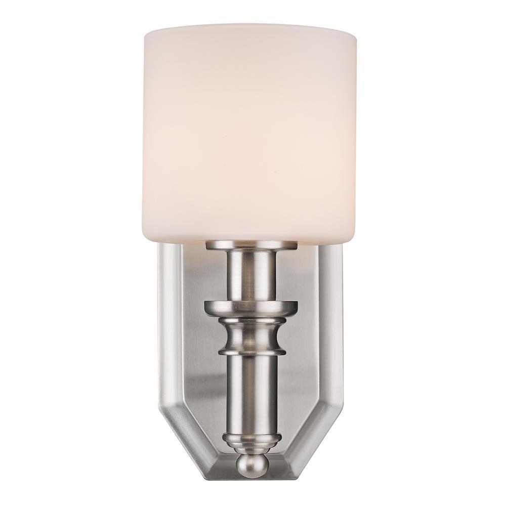 Beckford Pewter 1-Light Bath Light