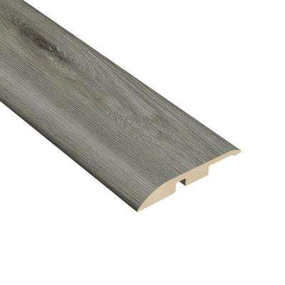 Oak Gray 1/4 in. Thick x 1-3/4 in. Wide x 94-1/2 in. Length Vinyl Multi-Purpose Reducer Molding