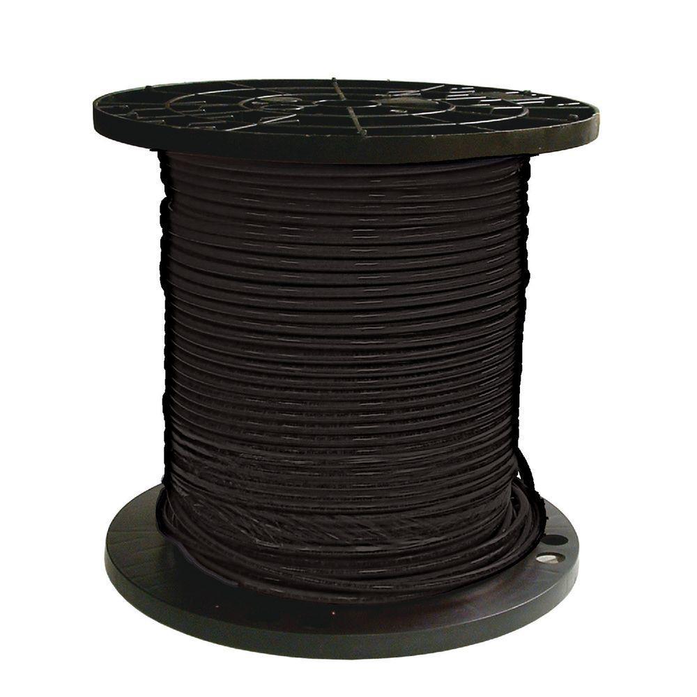 THHN 8 AWG Stranded Black 100FT