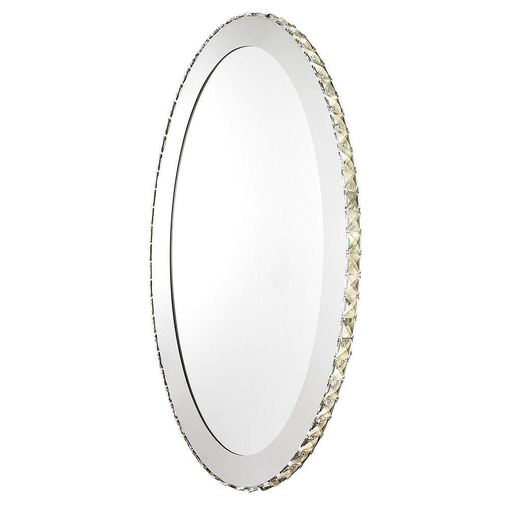 Toneria 9-Light Chrome LED Mirror