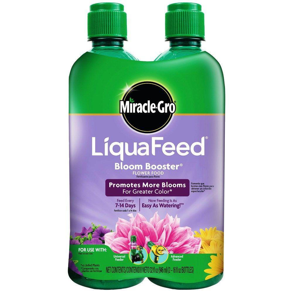 LiquaFeed 16 oz. Bloom-Booster Flower Food Refills (2-Pack)