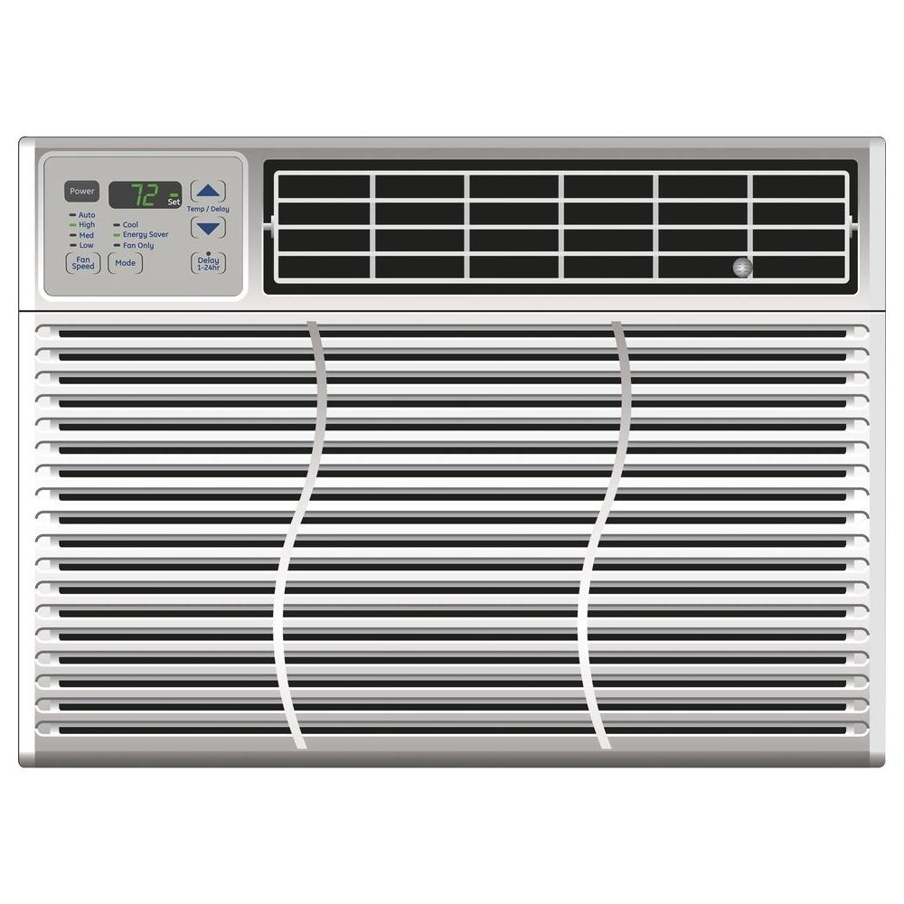 GE 10,150 BTU 115-Volt Electronic Window Air Conditioner with Remote