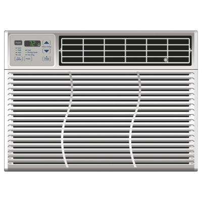10,150 BTU 115-Volt Electronic Window Air Conditioner with Remote