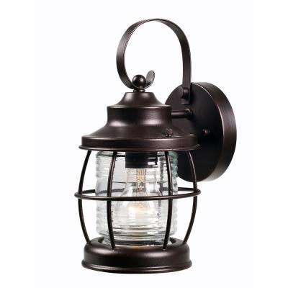 Sidelight 1-Light Outdoor Bronze Lantern