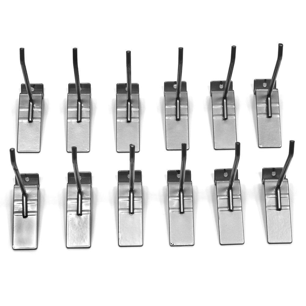 Slatwall 4 in. Hooks (12-Pack)