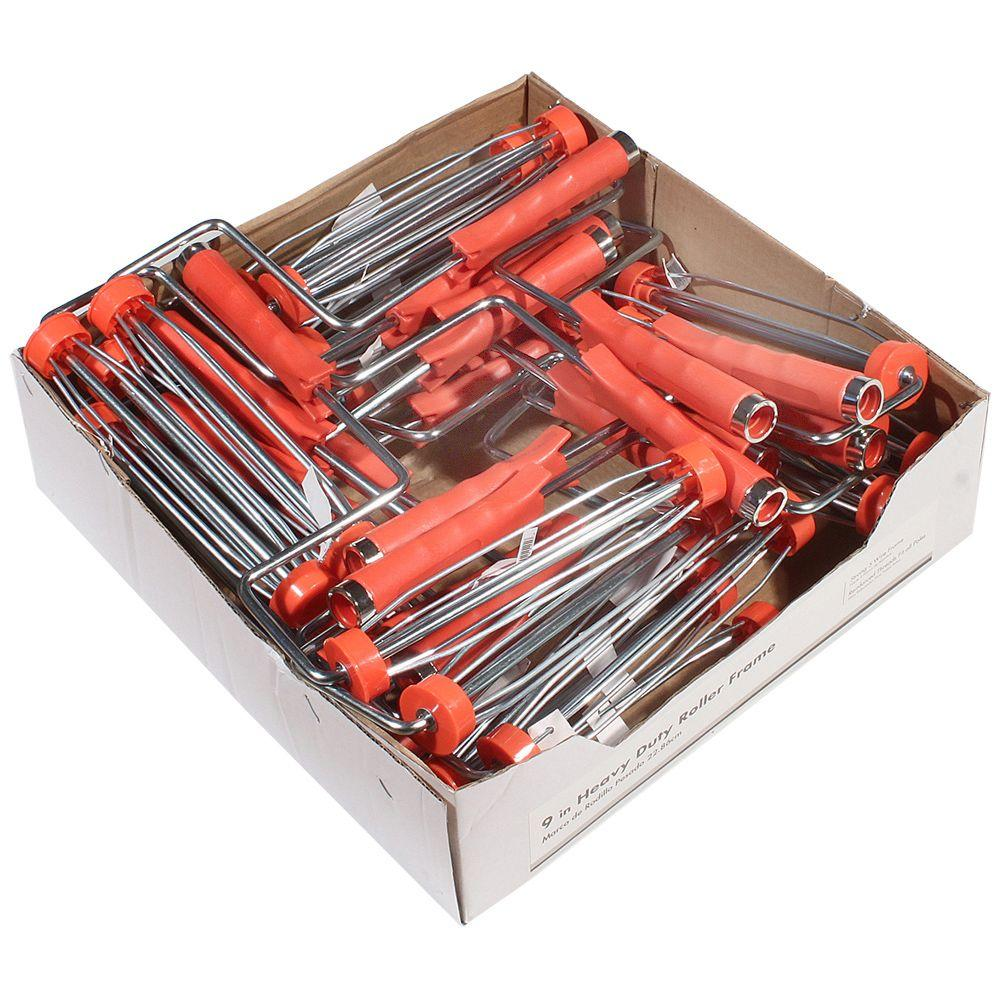 9 in. Heavy Duty Roller Frame (24-Pack)