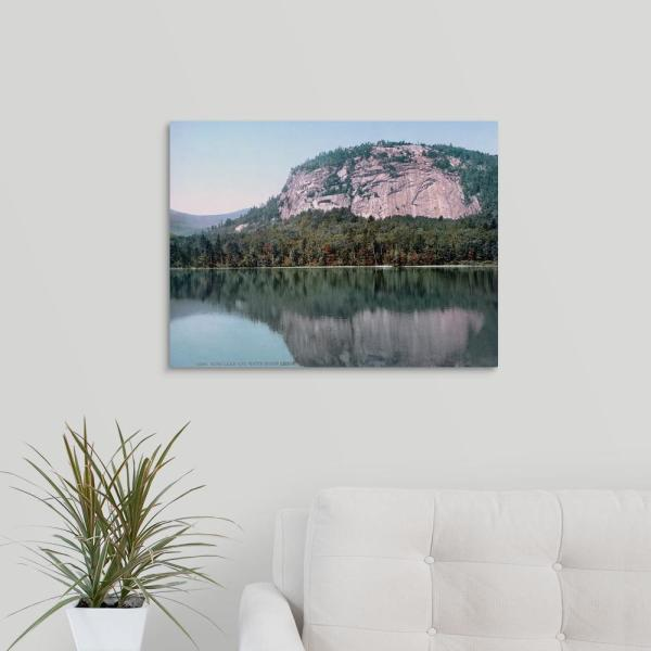 GreatBigCanvas ''Echo Lake and White Horse Ledge North Conway N.H'' by