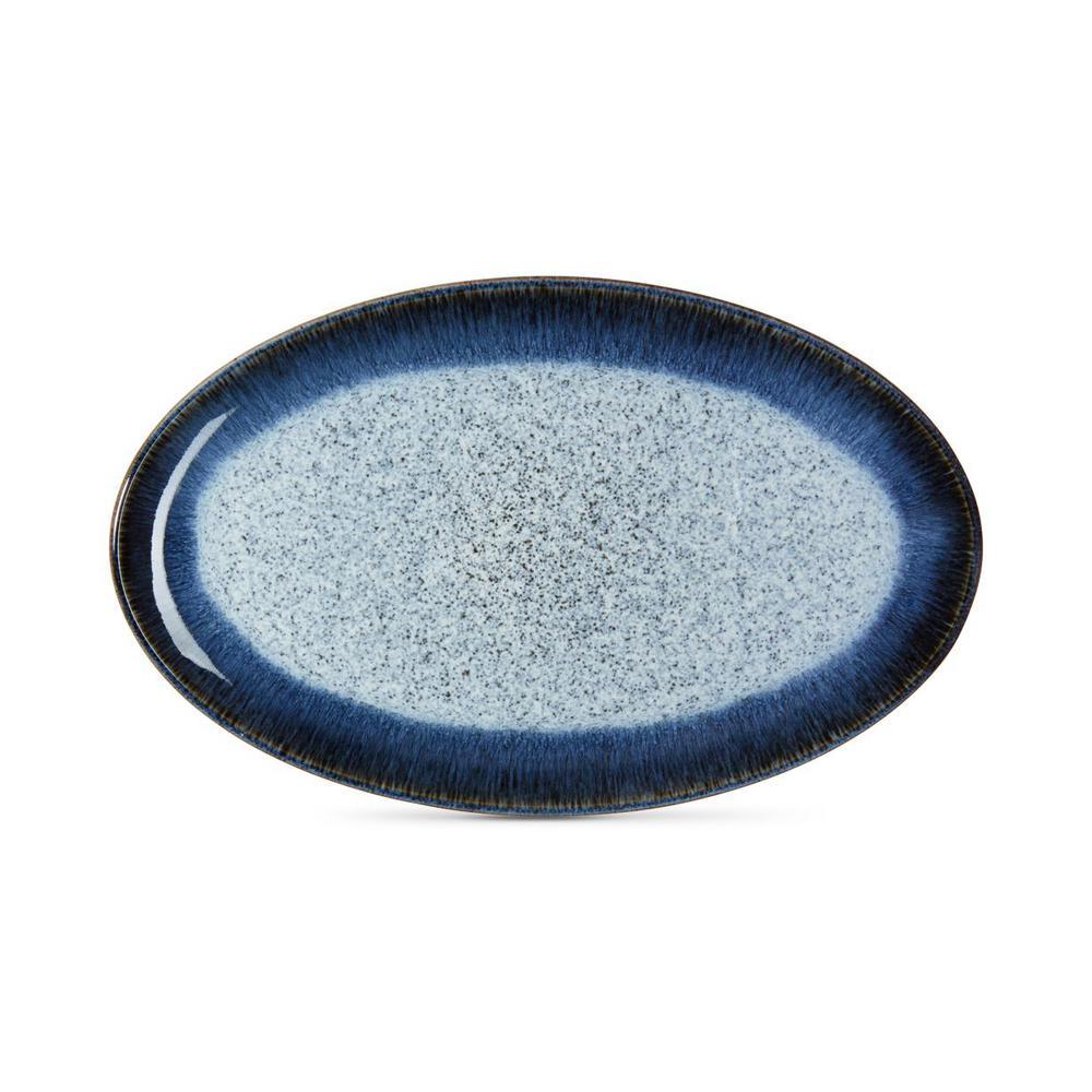 Halo Stoneware Oval Platter