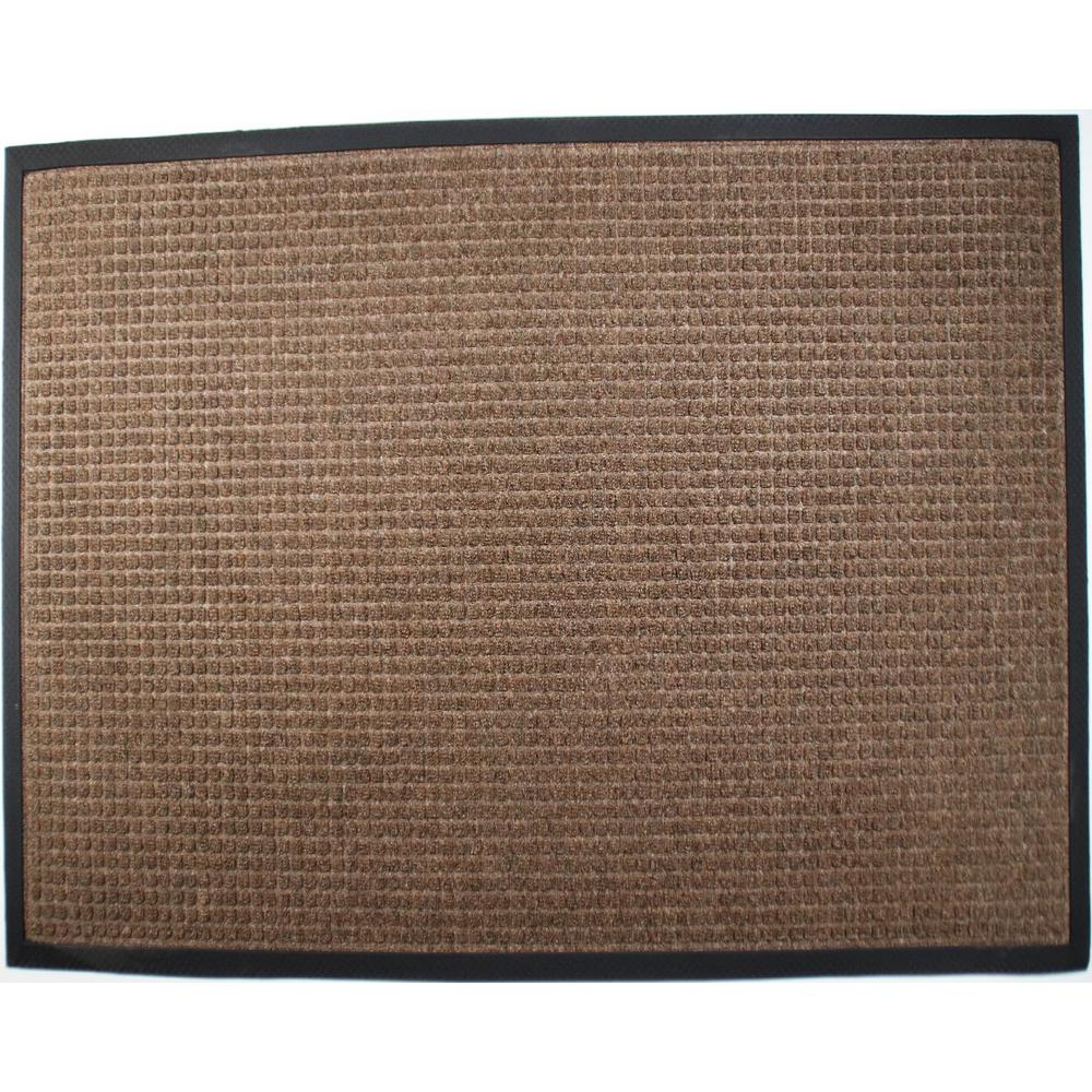 Town N Country 36 in. x 60 in.  Brown Entrance Mat