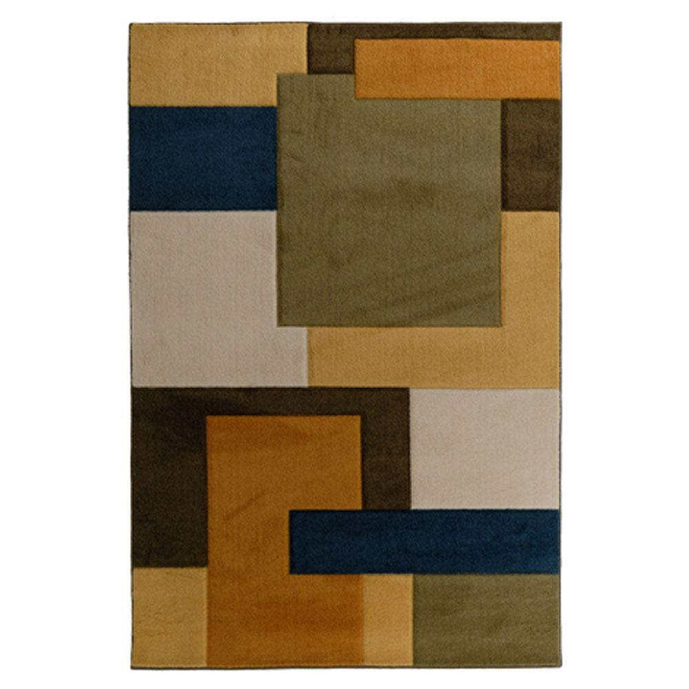 Lanart Java Blond 5 ft. x 7 ft. Area Rug