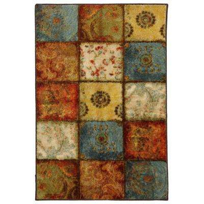 Artifact Panel Multi 2 ft. 6 in. x 3 ft. 10 in. Area Rug