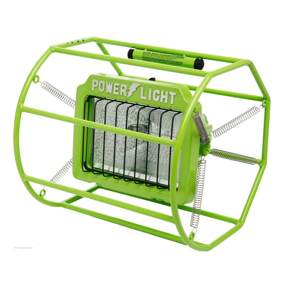 designer edge lighting. Designers Edge 500-Watt Halogen Gladiator Cage Light-L113 - The Home Depot Designer Lighting