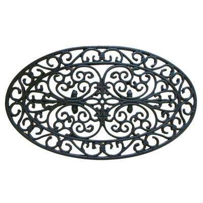 Verona 30 in. x 18 in. Cast Iron Door Mat