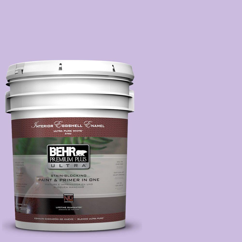 BEHR Premium Plus Ultra 5-gal. #P570-2 Confetti Eggshell Enamel Interior Paint
