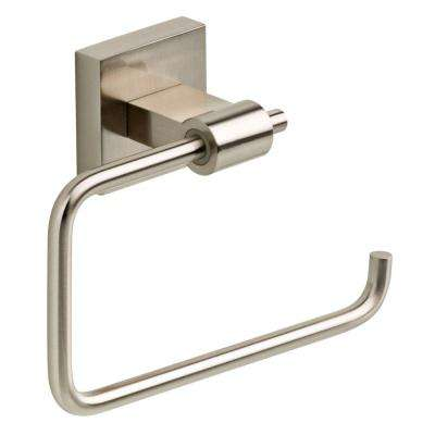 Maxted Single Post Toilet Paper Holder in Brushed Nickel