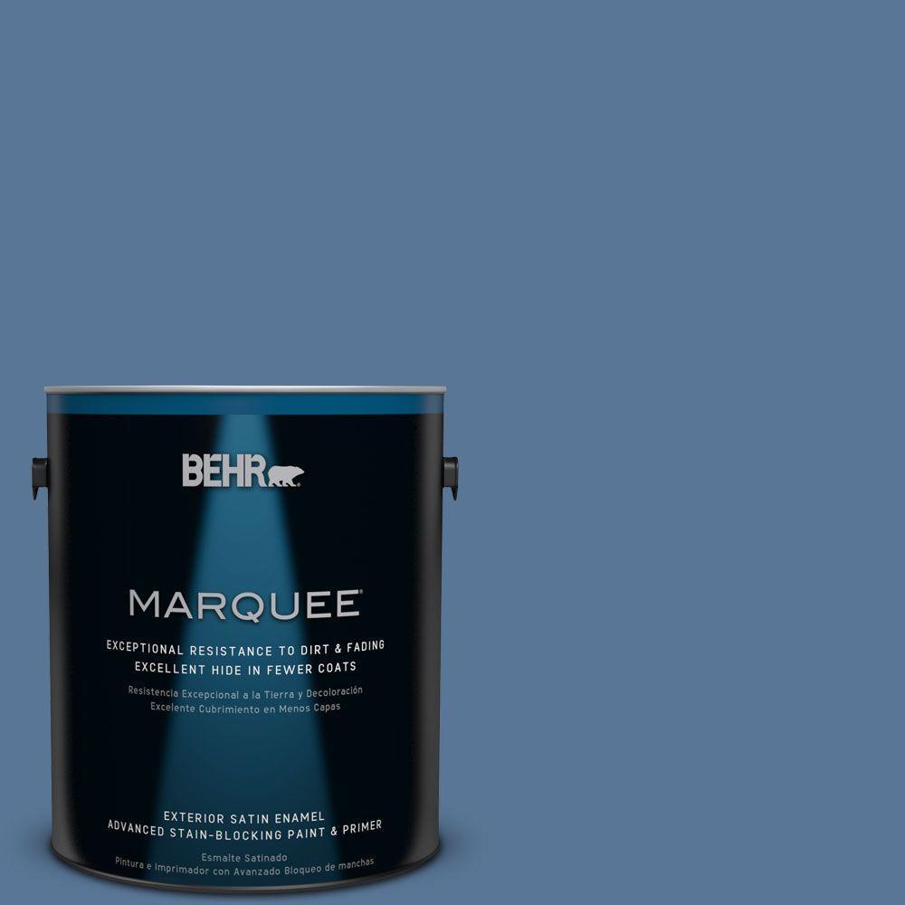 BEHR MARQUEE 1-gal. #MQ5-53 Privileged Elite Satin Enamel Exterior Paint