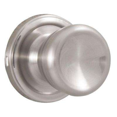 Essentials Satin Nickel Half-Dummy Sonic Door Knob