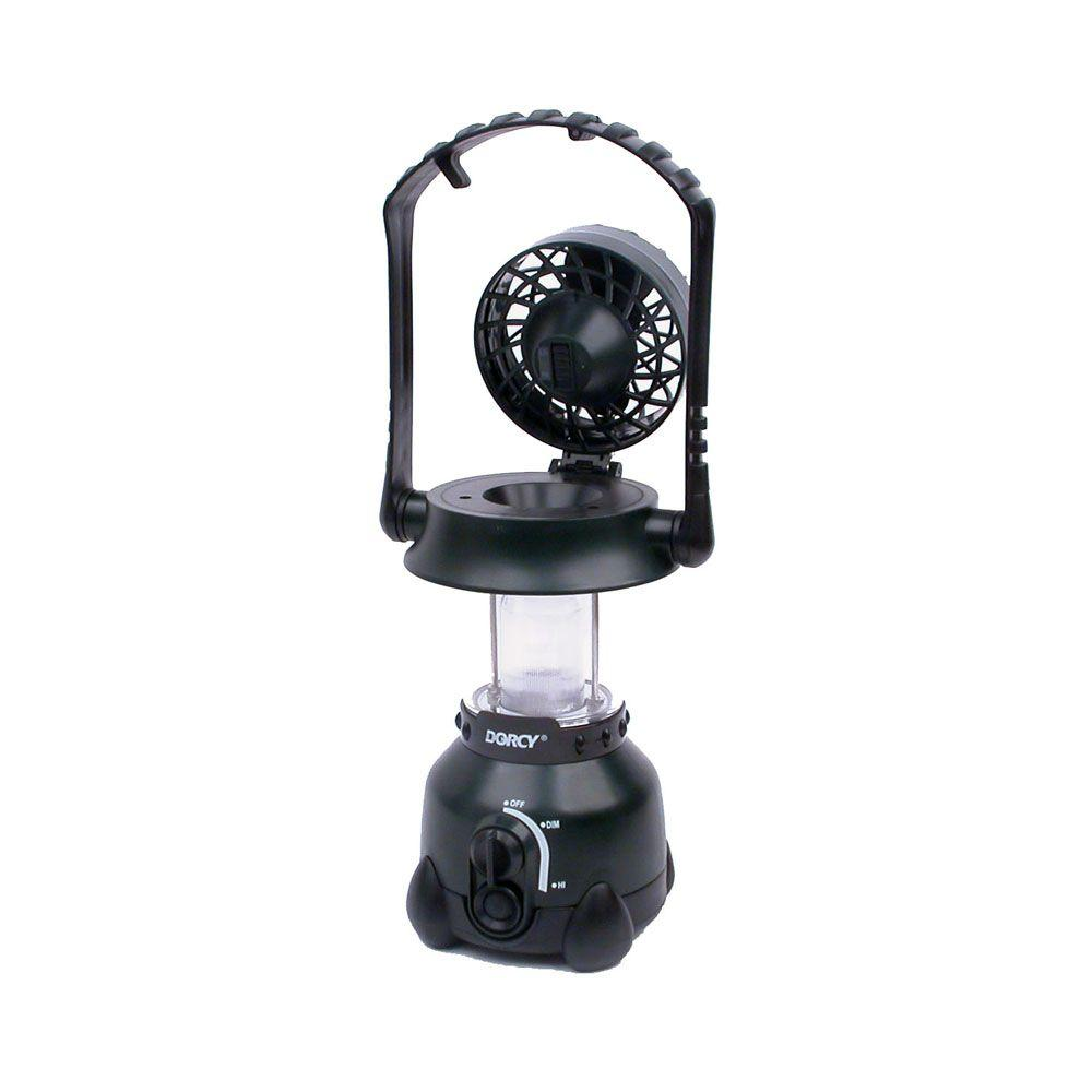 Dorcy 4D Xenon Luminator Area Lantern with Flip-Top Fan