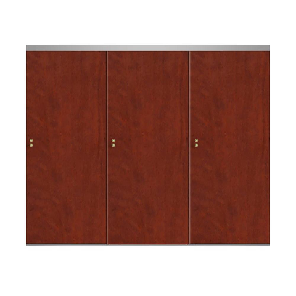 Cherry - Wood - Sliding Doors - Interior & Closet Doors - The Home Depot