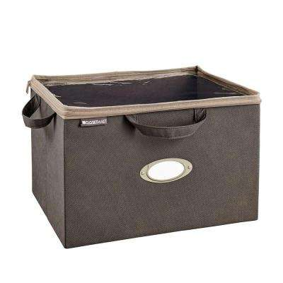 On-Shelf Storage Bag in Gray