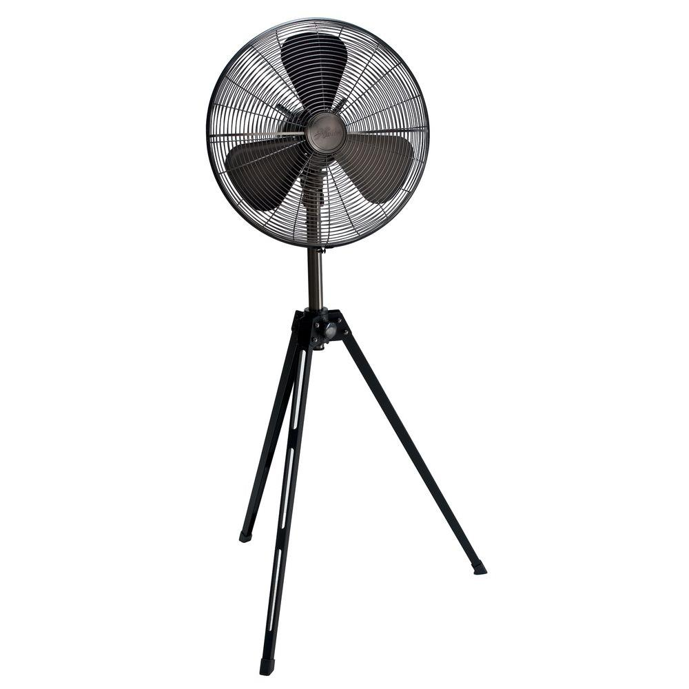 Retro 16 in. Tripod Pedestal Fan with All-Metal Construction