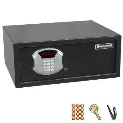 1 cu. ft. Low Profile Steel Security Safe with Digital Lock, Black