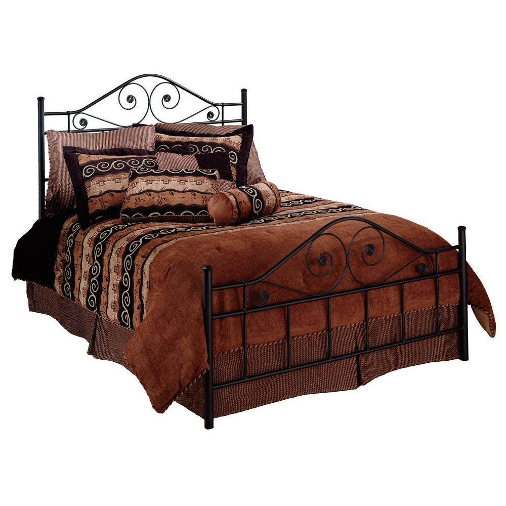 Hillsdale Furniture Harrison Textured Black King-Size Bed