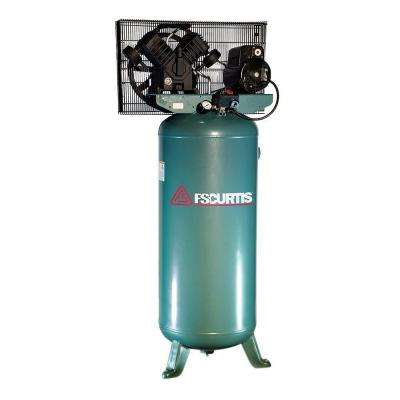60 gal. 5 HP Electric 230-Volt 1-Phase Air Compressor