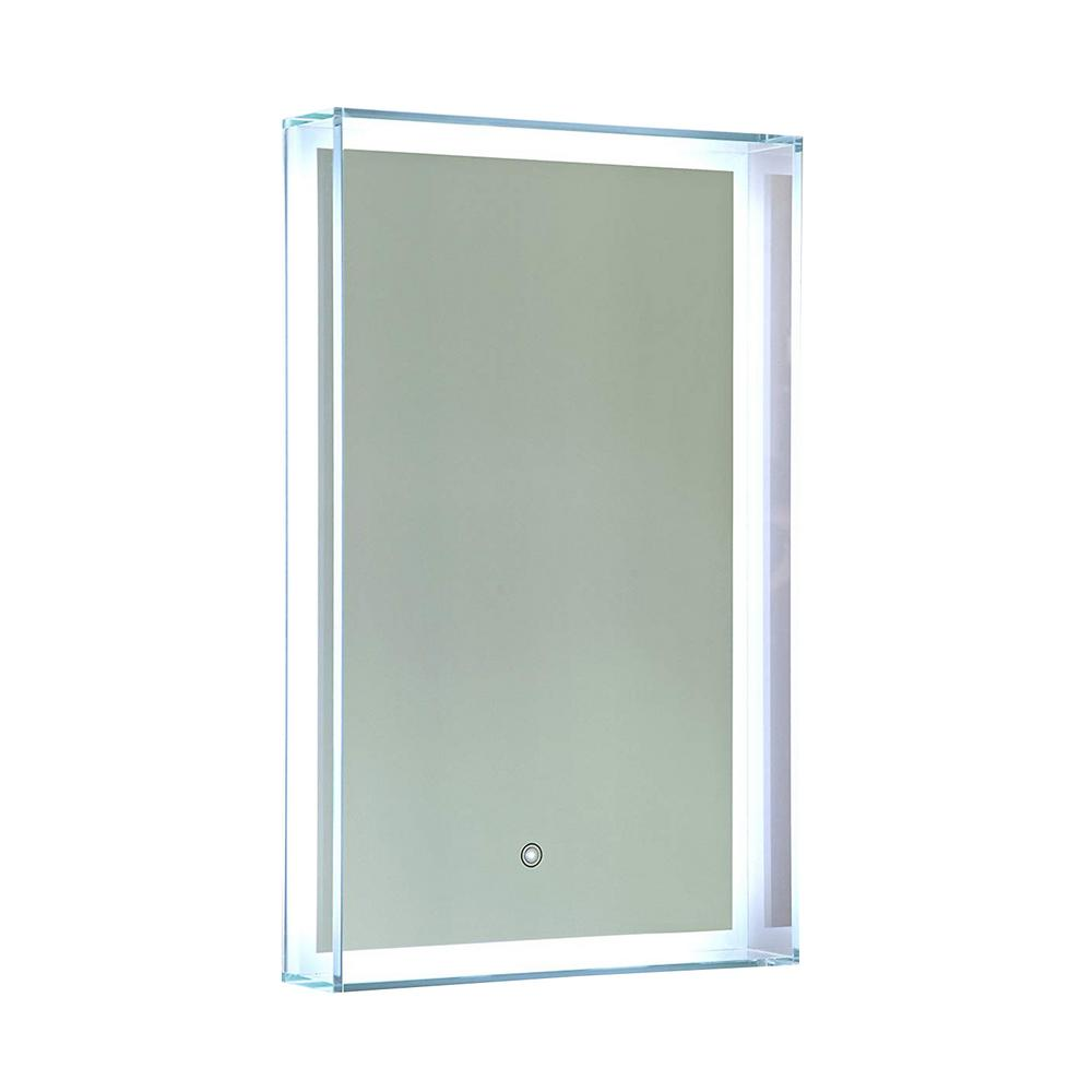 Vanity Art 31 in. x 20 in. LED Lighted Wall Mirror with Touch Sensor Switch, Clear was $418.19 now $271.82 (35.0% off)