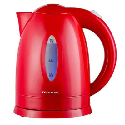 KP72R 7-Cup Red BPA Free Electric Kettle With Auto Shut-Off and Boil-Dry Protection