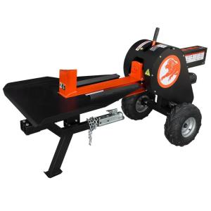 Power King 34-Ton 6.5 HP Gas Horizontal Kinetic Log Splitter with Kohler Pro Engine by Power King