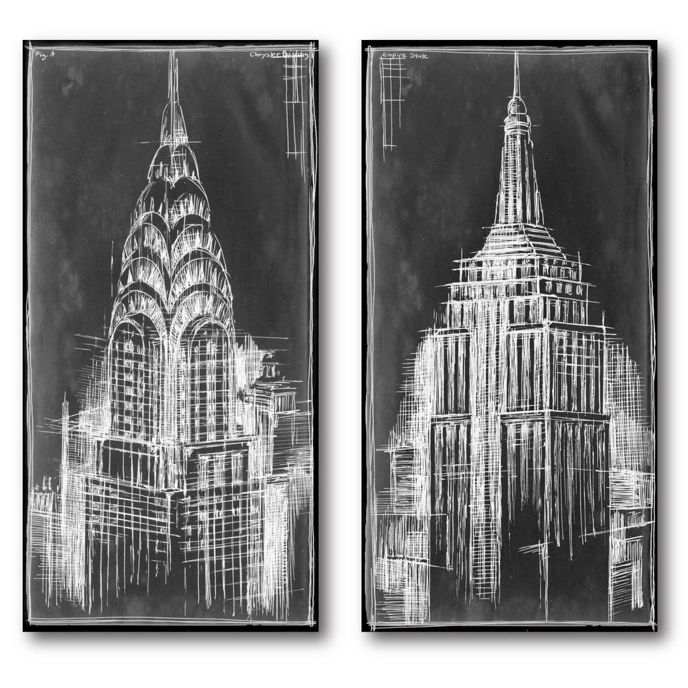 2 24 in x 36 in panels chrysler and empire state blueprint 2 2 24 in x 36 in panels chrysler and empire state blueprint malvernweather Gallery