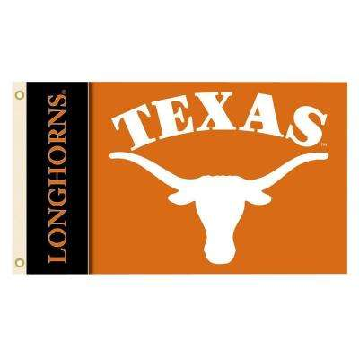 NCAA Texas Longhorns 3 ft. x 5 ft. Collegiate 2-Sided Flag with Grommets