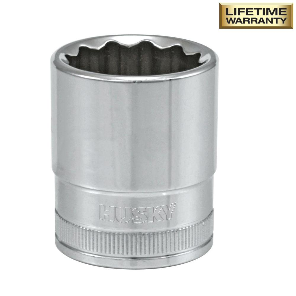 1/2 in. Drive 21 mm 12-Point Metric Standard Socket