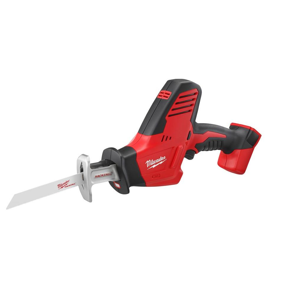 Milwaukee Milwaukee M18 18-Volt Lithium-Ion Cordless Hackzall Reciprocating Saw (Tool-Only)