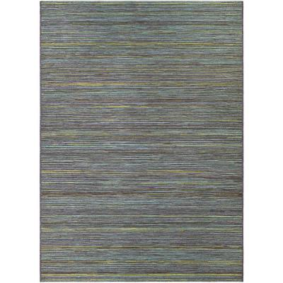 Cape Hinsdale Teal-Cobalt 8 ft. x 11 ft. Indoor/Outdoor Area Rug