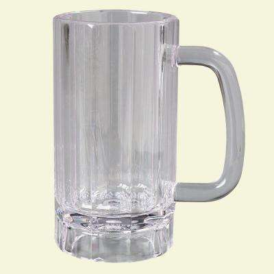 16 oz. Polycarbonate Handled Mug in Clear (Case of 12)