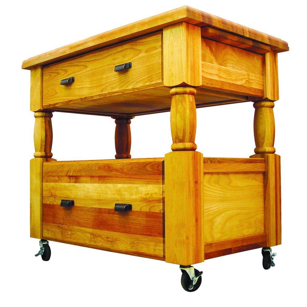 Catskill Europa Cart Storage Wood Product Image