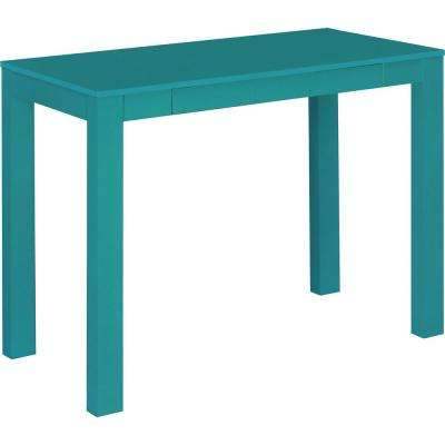 Nelson Teal Desk with Drawer