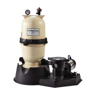 100 sq. ft. Clean and Clear Filter System with 1.5 HP OptiFlo Pump