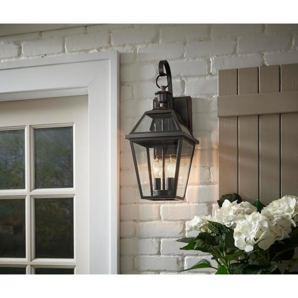 Home Decorators Collection French Quarter Gas Style 2 Light Outdoor Wall Lantern Sconce Jlw1612a 3 The Home Depot