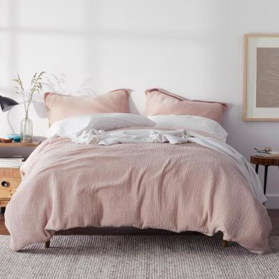 Weaver Organic Solid Cotton Duvet Cover