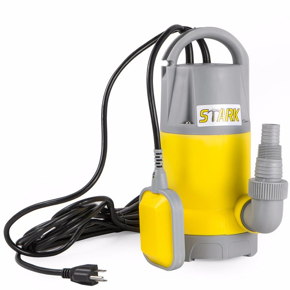 Stark 1.5 HP Submersible Thermoplastic Utility Sump Pump
