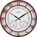 Red Laguna Outdoor Clock