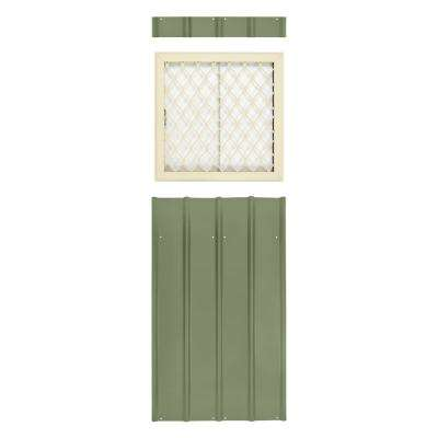24 in. x 24 in. Window Kit Mist Green