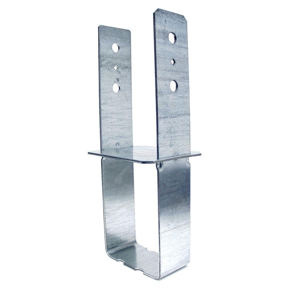 6 in. x 6 in. 7-Gauge Rough Column Base